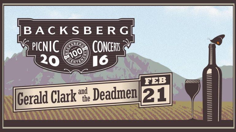 WIN: Gerald Clark & the Deadmen at Backsberg Picnic Concerts