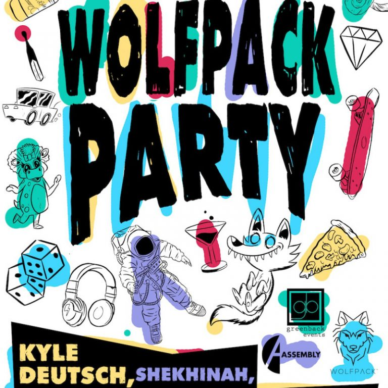 WIN: Wolfpack Party Tickets ft Kyle Deutsch, Groove Afrika, Gracetown & more