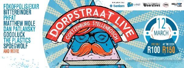 Win Tickets To DORPSTRAAT Live