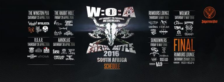LIVE REVIEW: Wacken Metal Battle – Cape Town heats