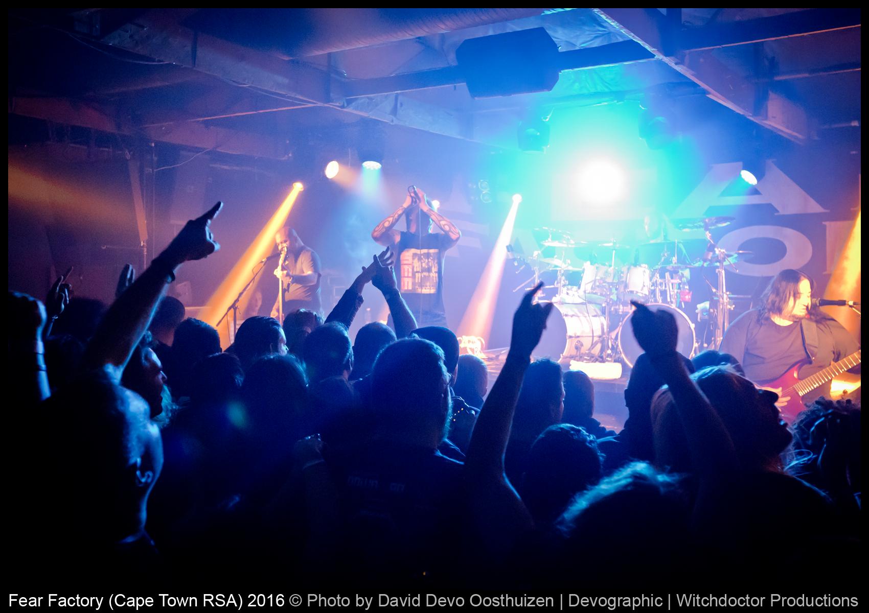 LIVE REVIEW: FEAR FACTORY SA TOUR 2016 – CTN