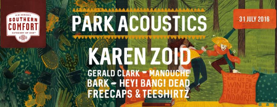 Park Acoustics – June Review, July Competition