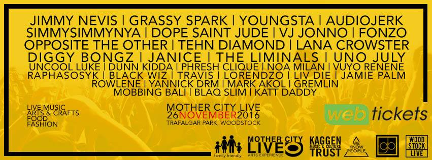Win Squad Goals Tickets To Mother City Live