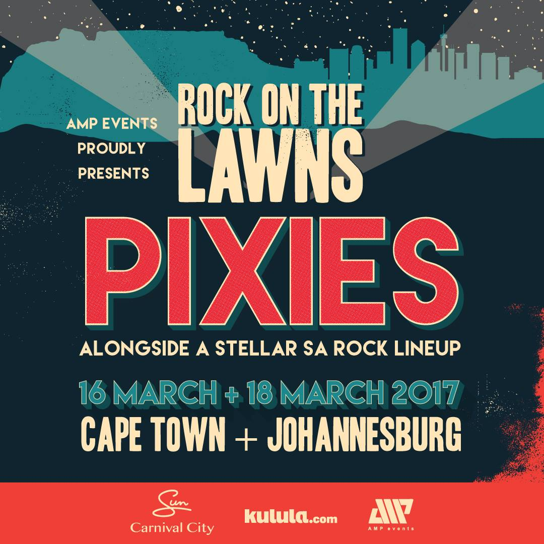 The Pixies South African tour 2017