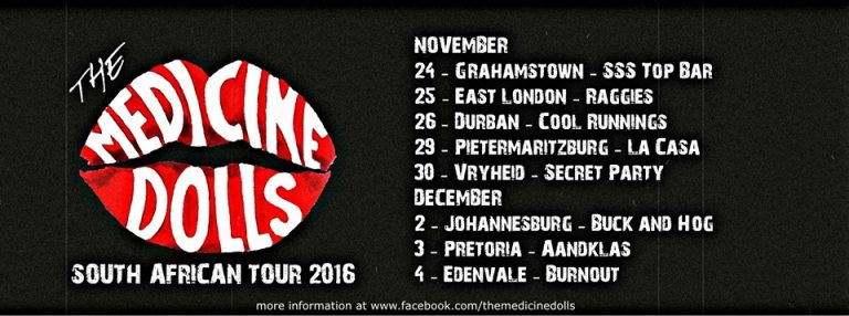 The Medicine Dolls On Tour